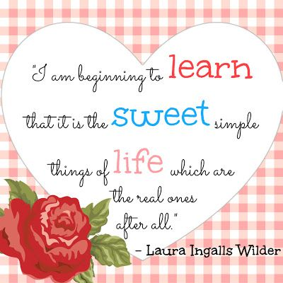 Laura Ingalls Wilder quote
