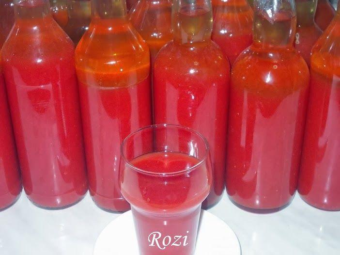 Rosie Transsylvanië, Szekely's Kitchen: zelfgemaakte tomatensap