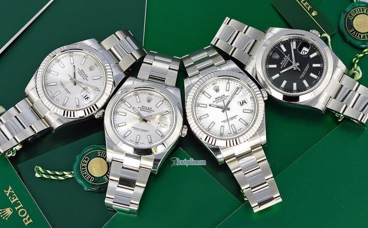 #Rolex #DateJust II #OysterPerpetual #116300 with the smooth bezel or #116334 with the #fluted white gold bezel. 41mm diameter case, screw down crown, water resistant 100m, #Cyclops magnified date. Available with a variety of dial colors. An #elegantwatch & very comfortable wear. Visit www.prestigetime.com for pricing.