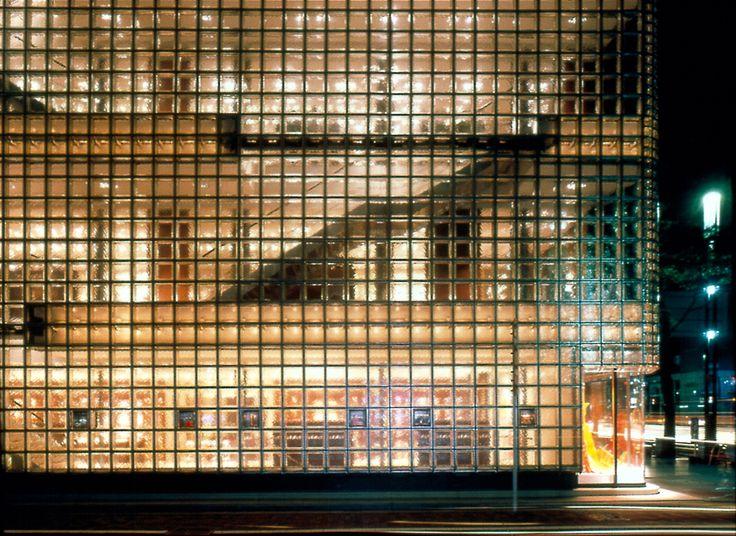 Mattone in vetro di grande formato GINZA by SEVES Divisione glassblock