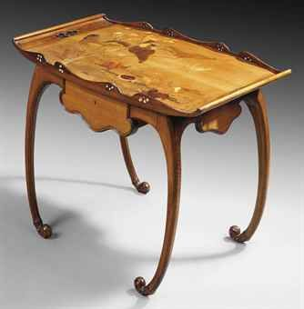 EMILE GALLÉ (1864-1904) TABLE, CIRCA 1900 Art / Ideas / Artist / Thoughts More At FOSTERGINGER @ Pinterest