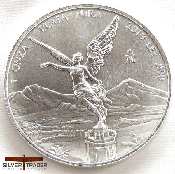 Libertad 5 oz .999 fine silver Proof Mexico 2013