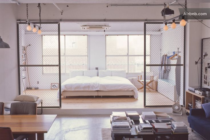 Loft in Minato, Japan. The apartment is a 80m2 industrial styled loft with a 30m2 terrace in the centre of Tokyo. The loft was renovated in February 2014 with a lot of love. Situated only 5 minutes away from Roppongi station the loft is on the 6th floor on a very calm s...