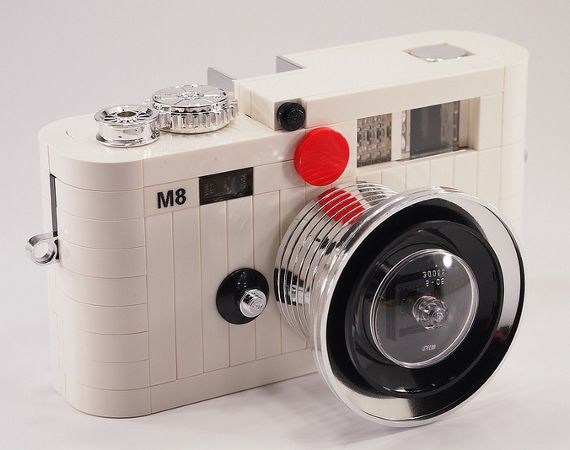 Lego Leica M8 Viewfinder Camera