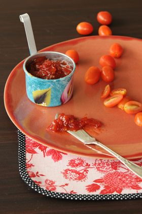 Chutney de tomates de Juliana Lopez May