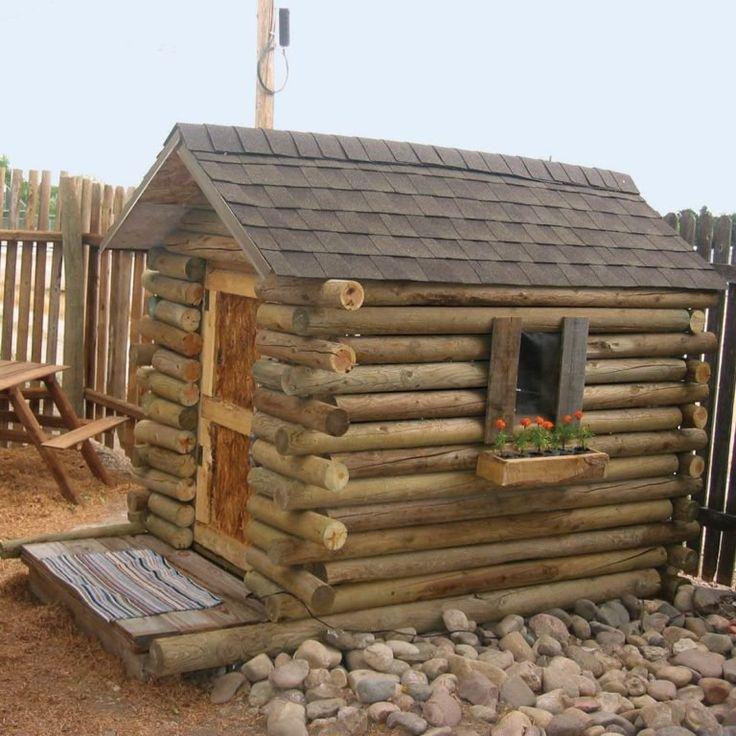 Reader Project: Five-Dollar Log Cabin Playhouse