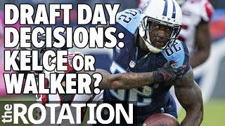 2016 Fantasy Football - Draft Day Decisions: Delanie Walker or Travis Kelce…