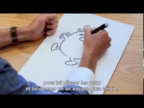 Apprends à dessiner tes Monsieur Madame