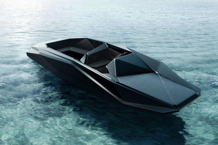 Z Boat / design by Zaha Hadid