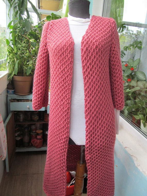 NewKnitted cardigan Cell in the style of Lalo от Galchenkoknitting