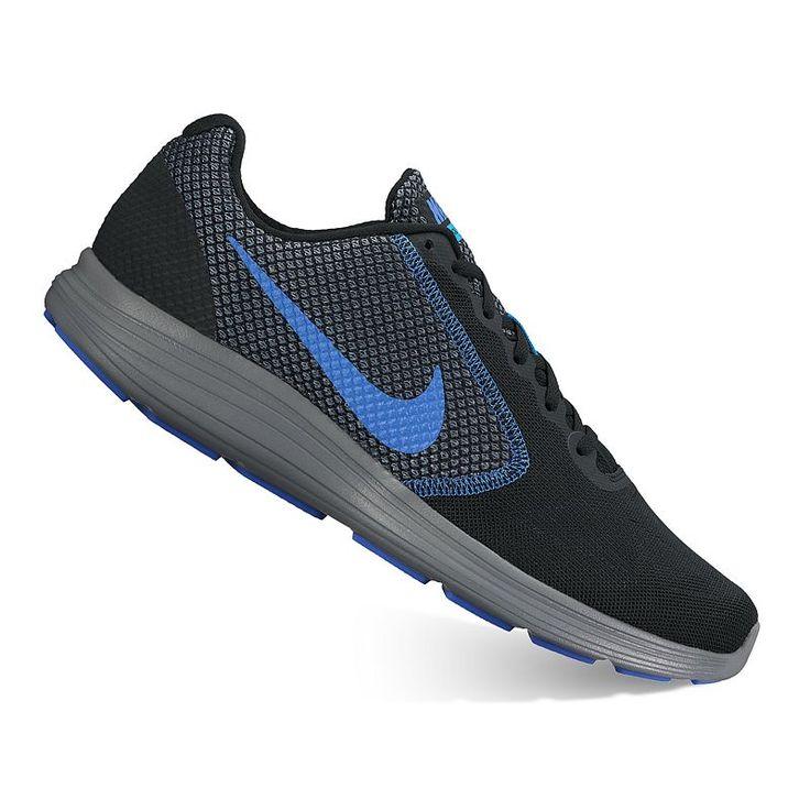 Nike Revolution 3 Men's Running Shoes, Size: 7.5 4E, Grey (Charcoal)