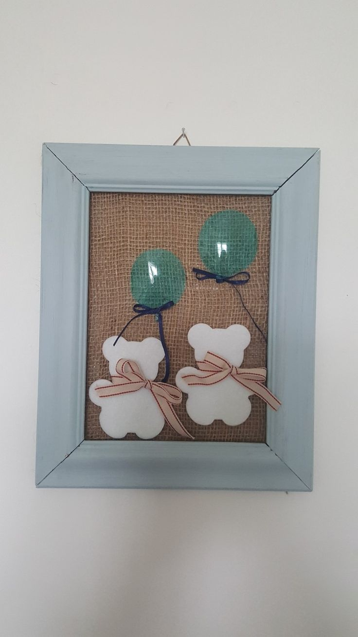 Handmade baby room decoration