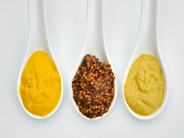 Mustard is one of the oldest condiments and hasn't changed much through the years. In it's essence, mustard is combination of mixing the ground seeds of the mustard plant with liquid, but its the variety of seeds and type of liquid used that creates all the varieties of mustard we know today.