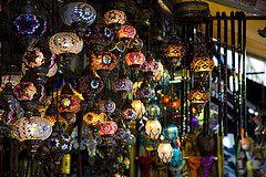 lanterns (krishchaos) Tags: travel canon turkey colours istanbul lanterns shops 5d bazaar merchants moroccan grandbazaar markiii 24105mm vision:dark=0584
