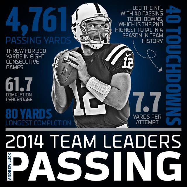 Andrew Luck 2014 stats