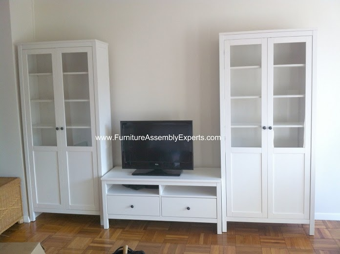 Ikea Faktum Legs Installation ~   center on Pinterest  White entertainment centers, TVs and Ikea built