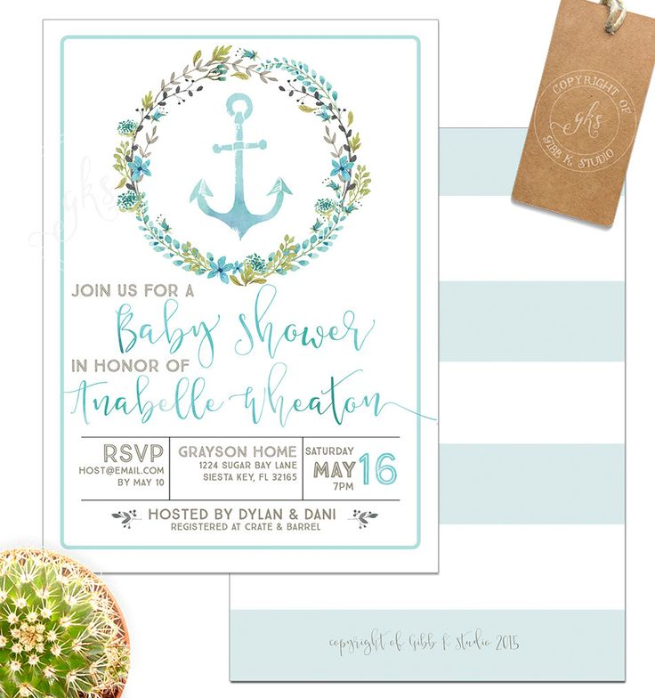 89 best Beach/Waves/Sand/Oysters/Pearls Baby Shower images on ...