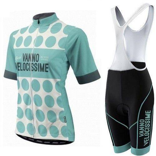 Morvelo Velocissime dames retro zomer fietskledingset 2014