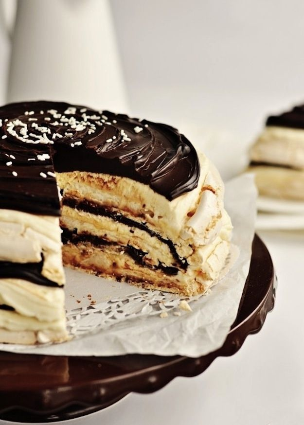 Mascarpone Meringue Cake | 31 Fantastic PassoverDesserts
