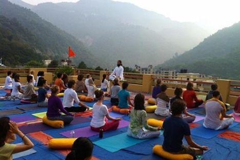 india yoga ashram