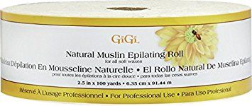 Gigi Natural Muslin Epilating Roll, 2.5 In x 100 Yards Review