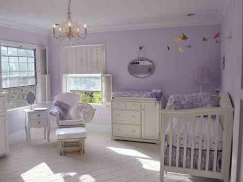 17 meilleures id es propos de chambre de fille mauve sur. Black Bedroom Furniture Sets. Home Design Ideas