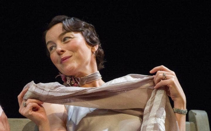 To Williams, the laurels: Olivia Williams, on super form as anti-heroine Amy O'Connell