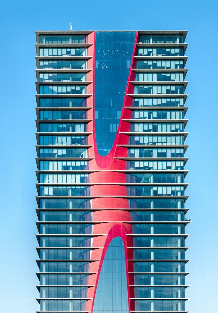 Torre Realia. L'Hospitalet. Barcelona.