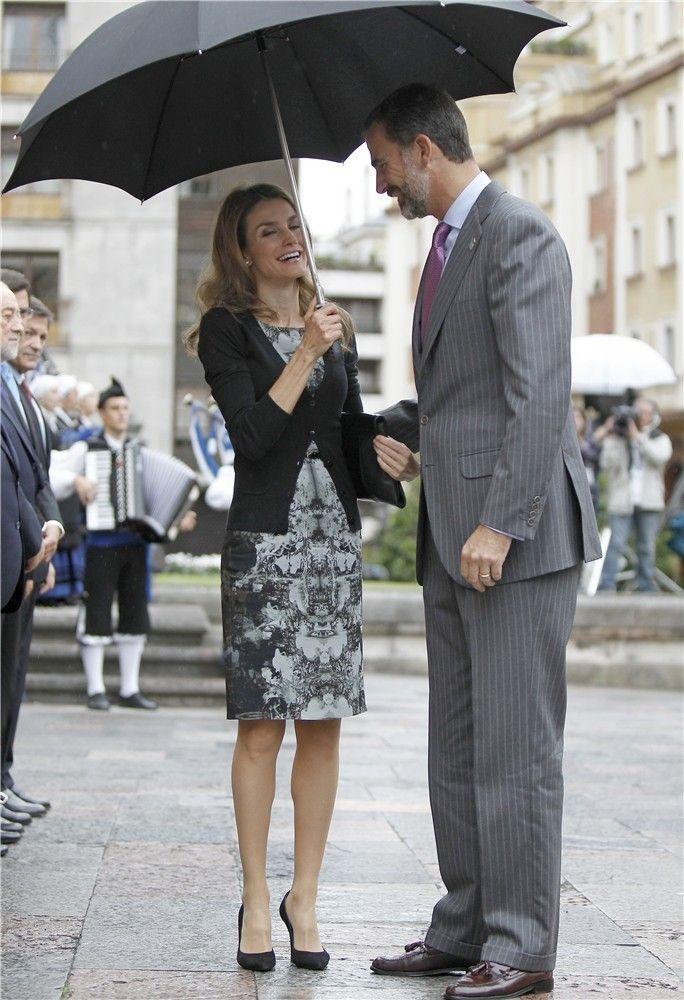Don Felipe y Doña Letizia, cómplices en Oviedo