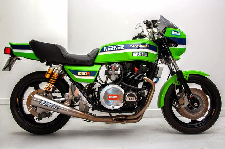 RocketGarage Cafe Racer: Kawasaki