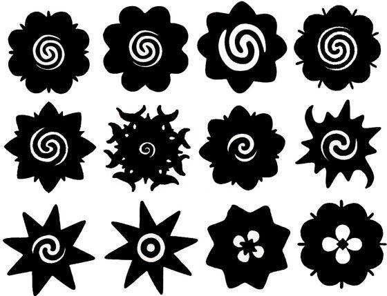 дизайны розы борнео