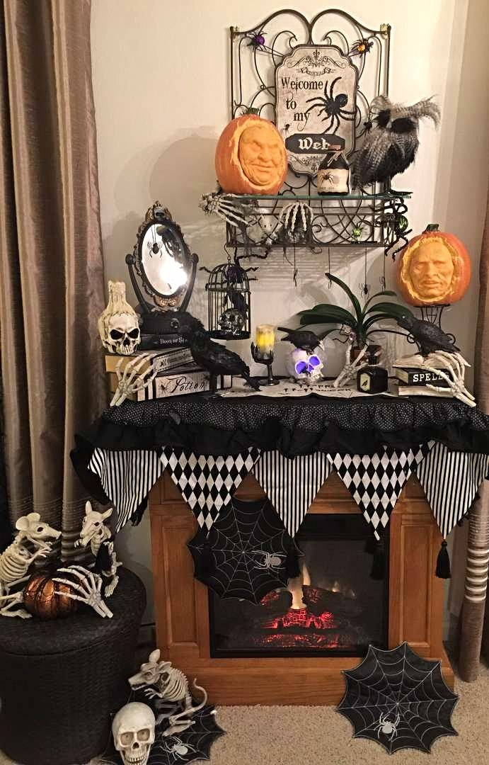 photo credit fran welin grandin road spooky dcor challenge 2016 - Grandin Road Halloween