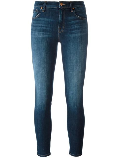 J BRAND cropped skinny jeans. #jbrand #cloth #jeans