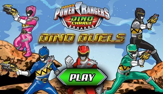 Power Rangers Dino Charge: Dino Duels