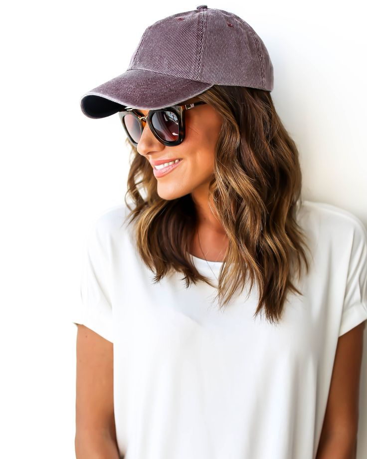 We are all about a good baseball cap! Sometimes we just need to throw a cap on and run out of the house, because let's be real, who is ever on time these days? We like sleep way too much!