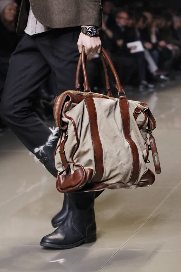 Fashion Men/Uomini Bags Runway Detail Burberry Holdall