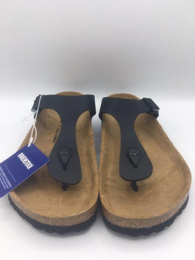 Birkenstock Gizeh Black 39 Size EUR 39 UK 5.5 US L 8.0 M 6.0