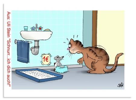Uli stein katzen pinterest cartoon and humor - Wetterbilder lustig ...