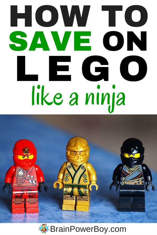 How to Save Money on LEGO Like a Ninja!