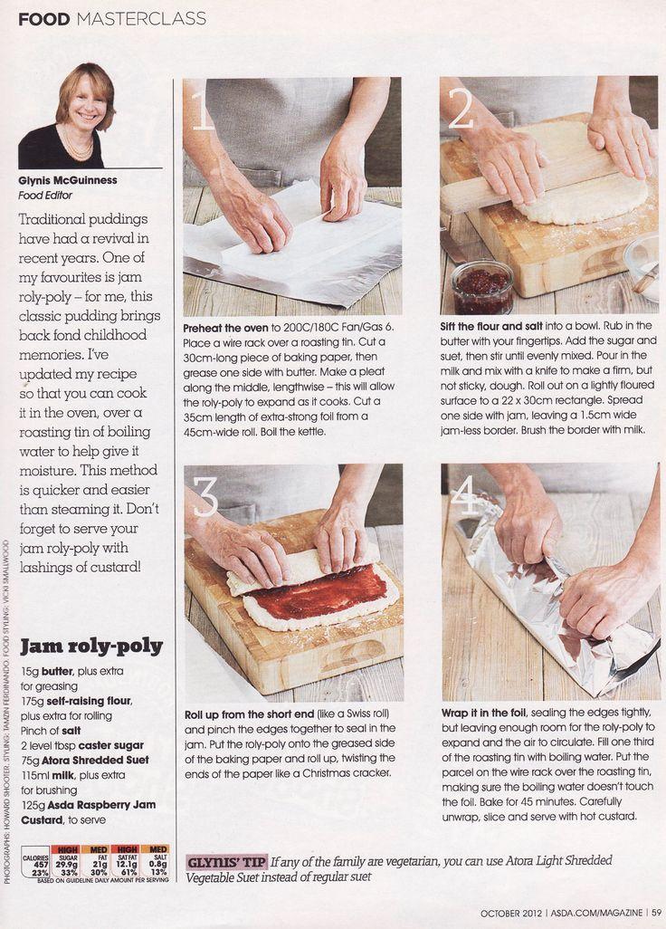 Jam Roly Poly Recipes