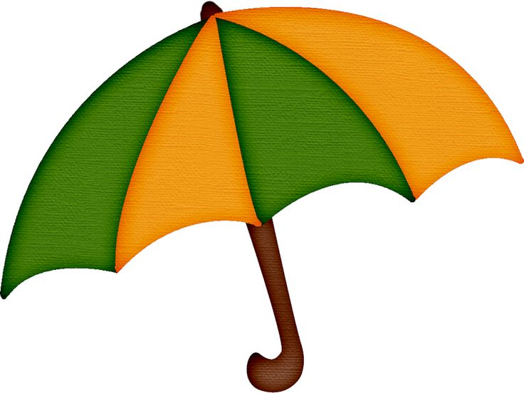 Green and yellow umbrella