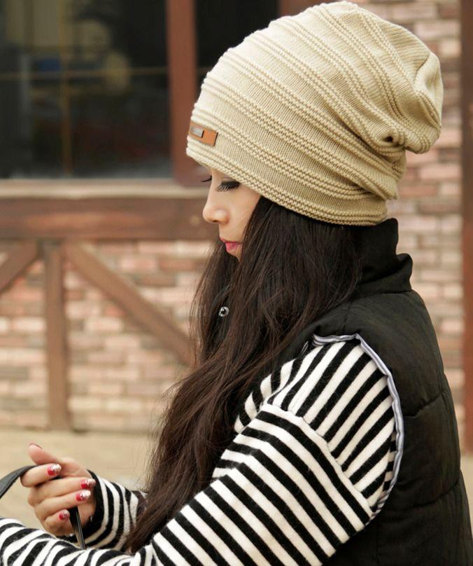 6f75d16c2 NEW Lady Chic WOOL brim BEANIE Hat winter ski Cap #fashion #clothing ...