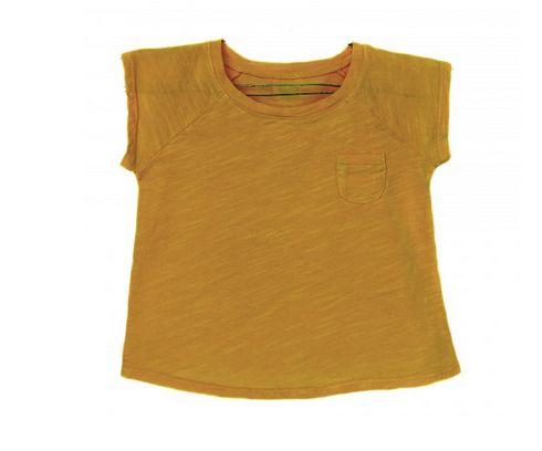 Le Petit germain T-shirt chic mosterd