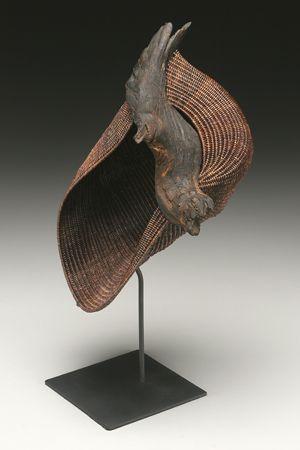 In Flight woven sculpture by Deborah Smith