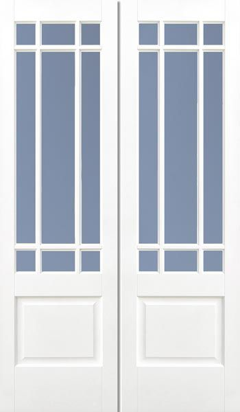 Solid White Downham Pair #whitedoors  sc 1 st  Pinterest & 66 best French Doors Internal French Doors Interior French Doors ...