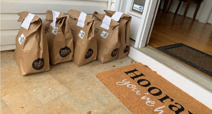 Grocery delivery services in the upstate in 2020 with