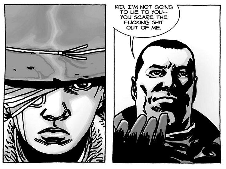 Carl Grimes Comics