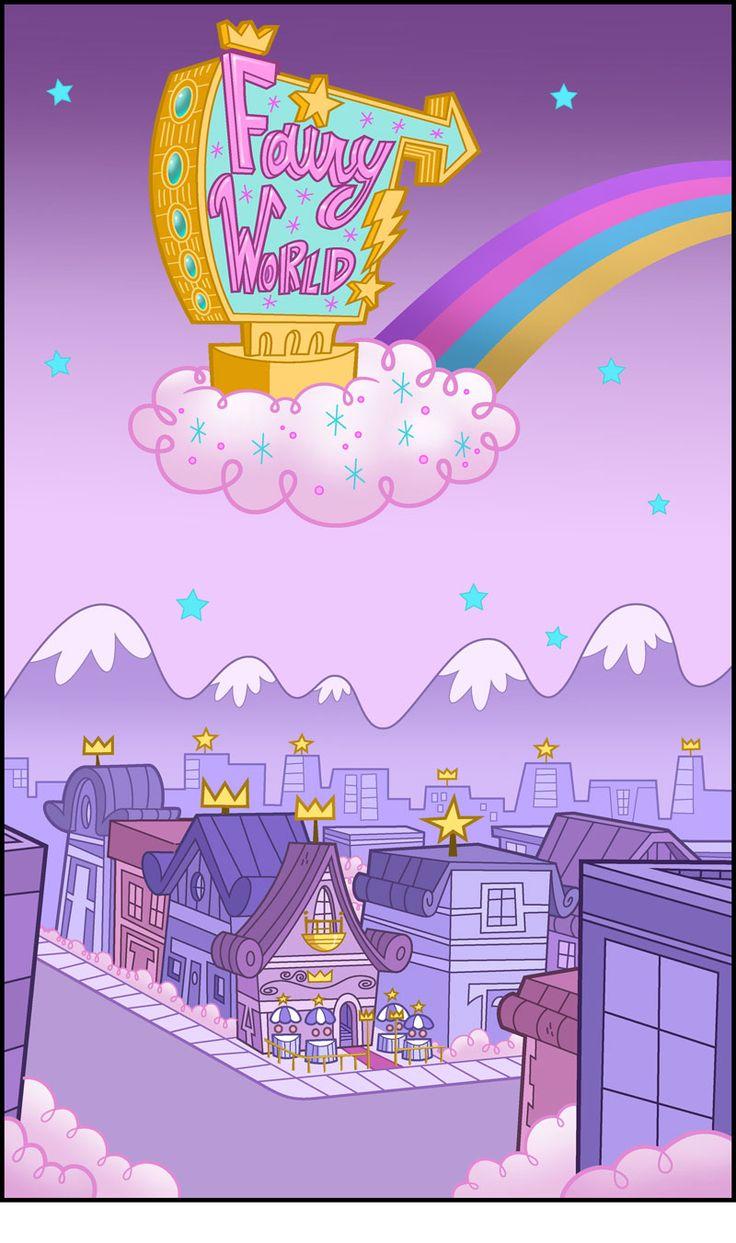 Os Padrinhos Mágicos - Mundo das Fadas