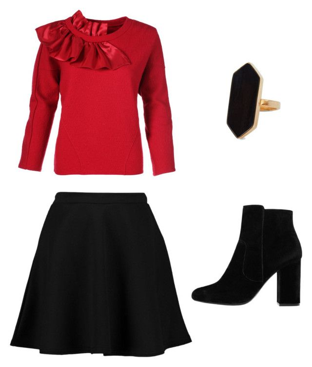 Untitled #6 by fruzsina-sitku on Polyvore featuring polyvore, fashion, style, Boohoo, MANGO, Jaeger and clothing
