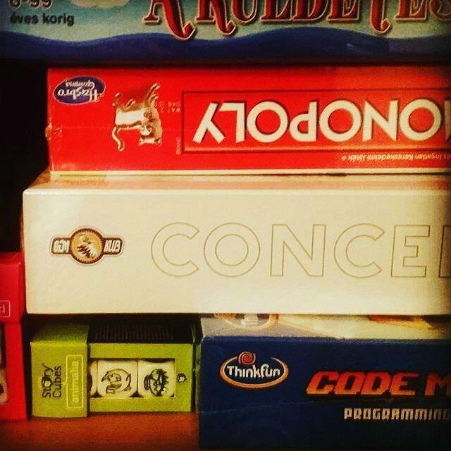 Dobozbontás: Code Master, Story cubes, Concept, Monopoly, Rumini